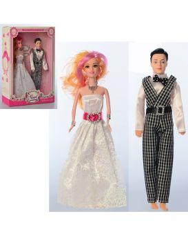 Кукла (жених и невеста), 27 см, в ассортименте, в коробке 26х34х7 см