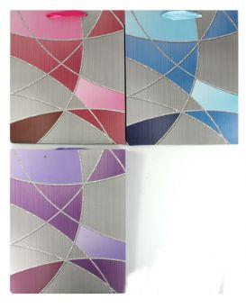 Пакет бумажный, 26х32х10 см, «Подарочный» в ассортименте, XY-S-1976L-02