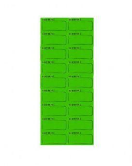 Ценник Полоска №1 29*20 зеленый 120 шт.