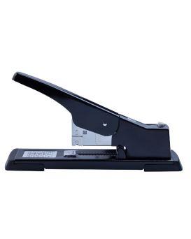 Степлер металлический, усиленной мощности до 100лист., (скобы №23), черный