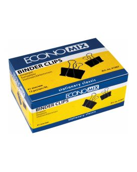 Биндеры для бумаги 41 мм Economix, 12 шт.