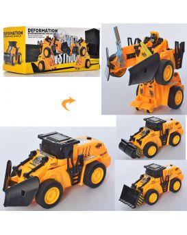 Трансформер 17см, робот+стройтехника, в ассортименте, в коробке, 19-9-8,5 см