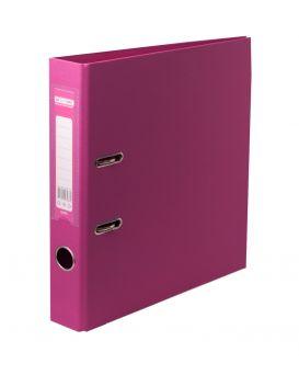 Папка - регистратор А4 ELITE двухсторонняя, сборная, 50 мм, PP, розовый
