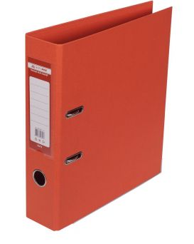Папка - регистратор А4 ELITE двухсторонняя, сборная, 70 мм, PP, оранжевый