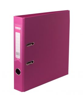 Папка - регистратор А4 ELITE двухсторонняя, сборная, 70 мм, PP, рожева