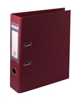 Папка - регистратор А4 ELITE двухсторонняя, сборная, 70 мм, PP, бордова