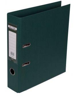 Папка - регистратор А4 ELITE двухсторонняя, сборная, 70 мм, PP, темно зелена