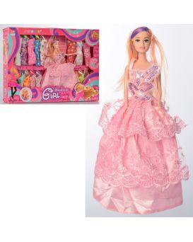 Кукла 27 см, с нарядом, платья, в ассортименте, в коробке 48х33,5х5,5 см