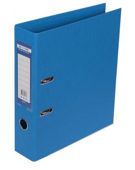 Папка - регистратор А4 ELITE двухсторонняя, сборная, 70 мм, PP, свет синий