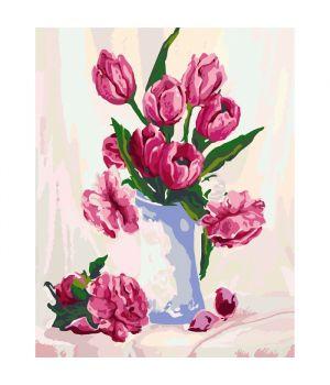 Набор для росписи по номерам. Цветы