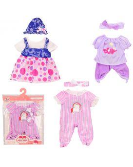Одежда для кукол, в ассортименте, в пакете 25х29 см