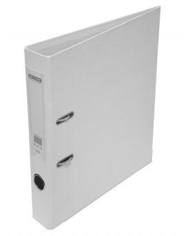 Папка - регистратор А4 ELITE двухсторонняя, сборная, 50 мм, PP, белая