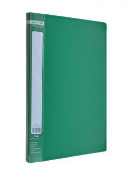 Папка A4 с боковым прижимом , зеленая
