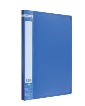 Папка A4 с боковым прижимом , синяя