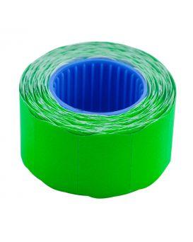 Ценник 26*16мм (375шт, 6м), фигурный, внешняя намотка, зелений