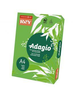 Бумага цветная А4 250 листов, 160 гр / м2, интенсив зеленый Deep Green 52» REY Adagio