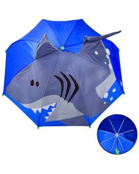 Зонтик детский длина трости 60 см, диаметр 70 см, пластиковое крепление