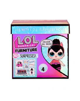 Игровой набор с куклой L.O.L. «SURPRISE! серии Furniture - Перчинка с автомобилем»
