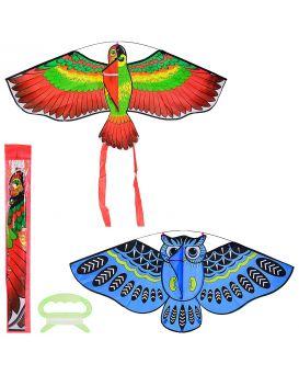 Воздушный змей 114х50 см, в ассортименте, в упаковке 5х63 см