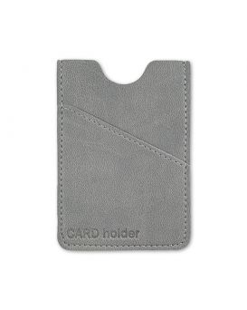 Кардхолдер 105х60 мм, на 6 карт «Frankfurt» серый