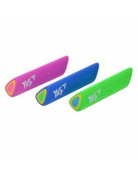 Ластик в форме треугольника «Air» 3 цвета в упаковке, ТМ YES
