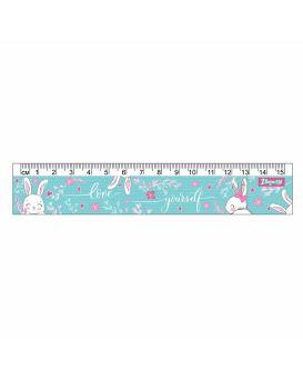 Линейка 15 см «Bunny» ТМ 1 Сентября
