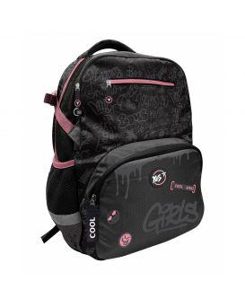 Рюкзак «Cool girls» черный, ТМ YES, T-117
