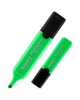 Маркер 1 - 5 мм «Highlighter» клиновидный, зеленый