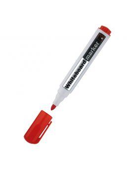 Маркер 2 мм «Whiteboard» круглий, красный