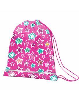 Сумка для обуви Smart «Shine Bright» розовый / бирюзовый
