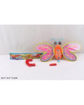 Каталочка «Бабочка» на палочке, в пакете 36х20х9 см