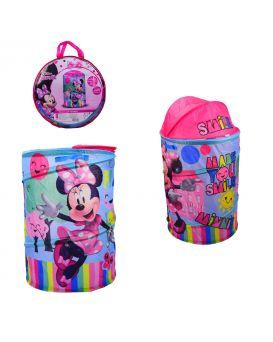 Корзина для игрушек «Minnie Mouse» 43х43х60 см, в сумке 49х49х3 см