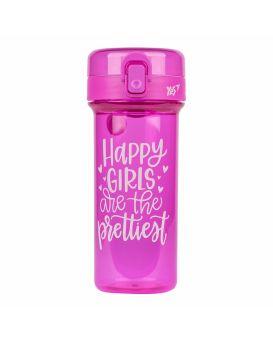 Бутылочка для воды 430 мл «Happy Girls» ТМ YES