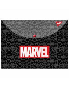 Папка - конверт на кнопке А4 «Marvel.Avengers» ТМ YES
