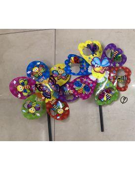 Ветрячок «Цветок» 35 см, в ассортименте