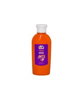 Краска гуашевая 250 мл, оранжевая, Творчество