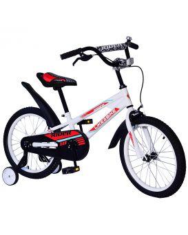 Велосипед детский 2-х колесный 14 дюймов «Like2bike Rider» звонок, рама сталь, ручные тормоза, белый