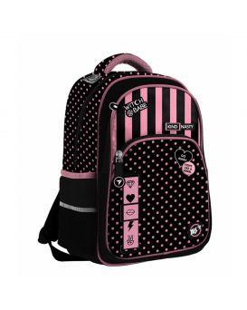 Рюкзак «Kind & Nasty» черный / розовый, ТМ YES, S - 40