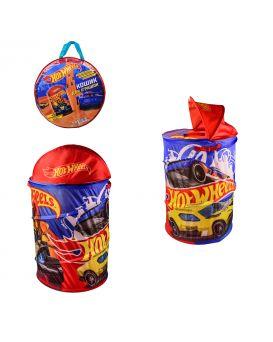Корзина для игрушек «Hot Wheels» 43х43х60 см, в сумке 49х49х3 см