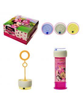 Мыльные пузыри «Minnie» 60 мл, в ассортименте, 36 шт. в коробке 23,5х24 см