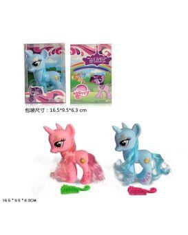 Герои мультфильма «My Little Pony» расческа, в ассортименте, в коробке 16,5х9,5х6,3 см